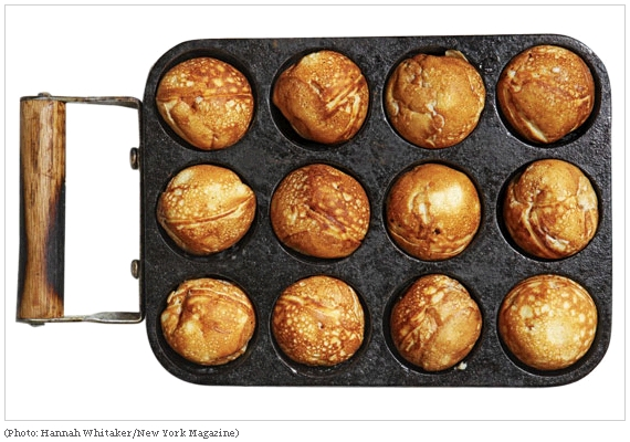 Look familiar? If you've visited Aunt Else's Æbleskiver booth at the Mill City Farmers Market it will.